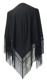 Flamenco Shawl black