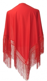 Flamenco Shawl red
