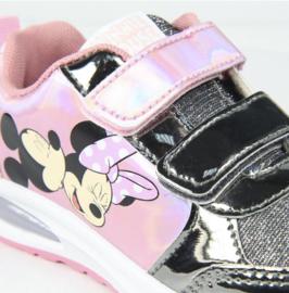 Disney sneaker Minnie Mouse met lichtjes roze