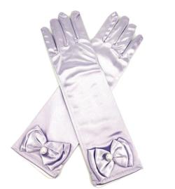 Handschoenen prinsessen licht paars voor kinderen