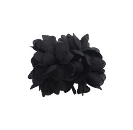 Haarbloem zwart klein model