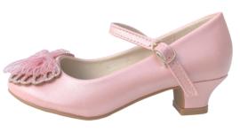 Spaanse schoenen vlinder roze Glamour