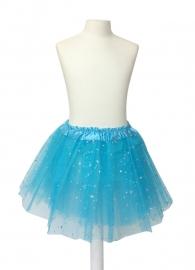 Balletrokje blauw met sterren