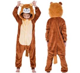 Onesie Leeuw huispak kostuum + GRATIS hanger