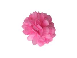 Haarbloem roze klein model