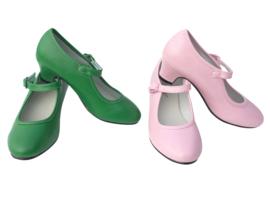 Spaanse schoenen groen