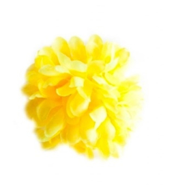Flamenco hair flower yellow