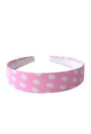 GRATIS haarband roze wit -  vanaf 40 euro excl. verz.kosten
