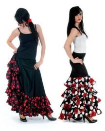 Jupe flamenco avec volants
