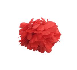 Haarbloem rood klein model