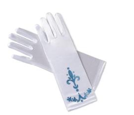 Elsa Frozen handschoenen wit