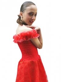 Prinsessenjurk Rood - La Señorita