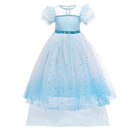 Elsa droom kleedje sterren + GRATIS kroon