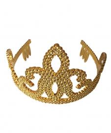 Tiara / Kroontje goud