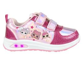 LOL Surprise sneakers fel roze met lichtjes