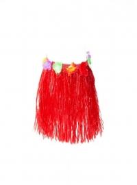Spaanse fiesta rok, rood