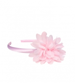 Headband ligth pink flower