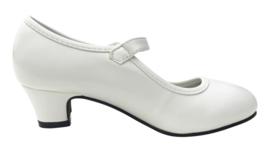 Spaanse schoenen wit