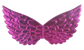 Prinsessen vleugels fel roze NIEUW