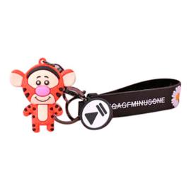 Tijger tas hanger/sleutelhanger