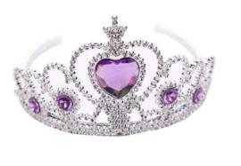 Prinsessen kroon paars