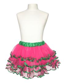 Ballet rokje roze groen