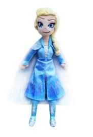 Frozen 2 Elsa knuffel - 40 cm - + GRATIS Frozen ketting