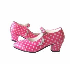Spaanse schoenen hanger set flamenco schoen