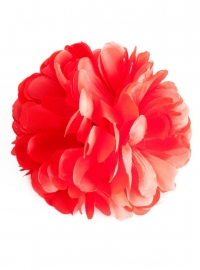 Spaanse haar bloem rood XL