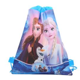Frozen 2 Elsa en Anna rugzak cadeautas blauw