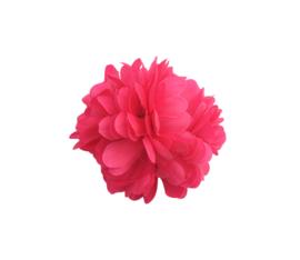 Haarbloem fel roze klein model