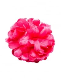 Flamenco hair flower pink