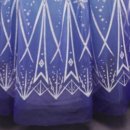Elsa jurk blauw Classic Deluxe + GRATIS kroon