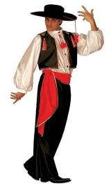Spaans Flamenco pak heren met hoed