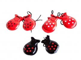 Spanish castanets with dots