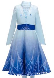 Frozen 2 Elsa jurk ster Deluxe + GRATIS ketting