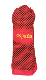 Spaanse flamenco schort España rood zwart