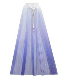 Frozen 2 Elsa cape blauw + GRATIS ketting