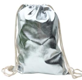 Spaanse rugzak tas zilver