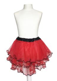 Spaans ballet rokje rood zwart