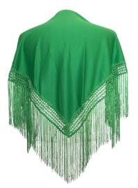 Spaanse manton/omslagdoek groen SMALL