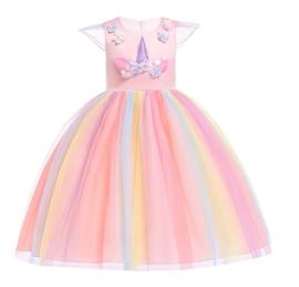 Eenhoorn Unicorn jurk roze Classic Deluxe + GRATIS haarband