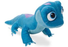 Frozen 2 Bruni Salamander Knuffel klein blauw