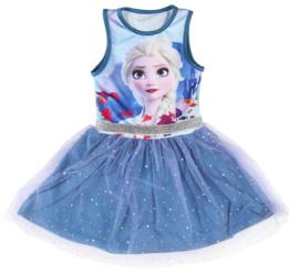 Disney Frozen 2 Elsa jurk blauw