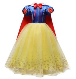 Prinsessenkleedje Sneeuw Koningin Luxe + GRATIS kroon