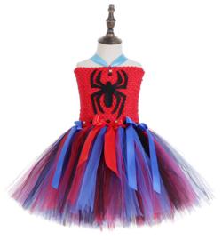 Spider meisje tutu prinsessenjurk + GRATIS hanger