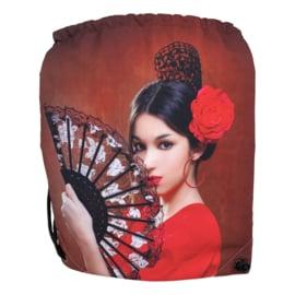Spaanse rugzak cadeautas flamenco