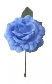 Spaanse flamenco roos, blauw