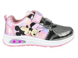 Disney sneaker Minnie Mouse lichtjes roze