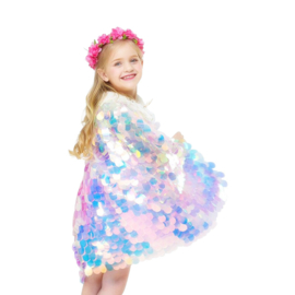 Zeemeermin cape Luxe prinsessen NIEUW